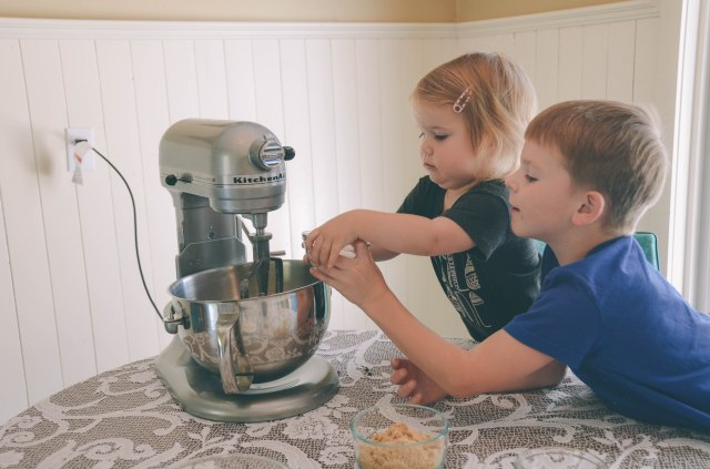 making cookies with toddlers recipe