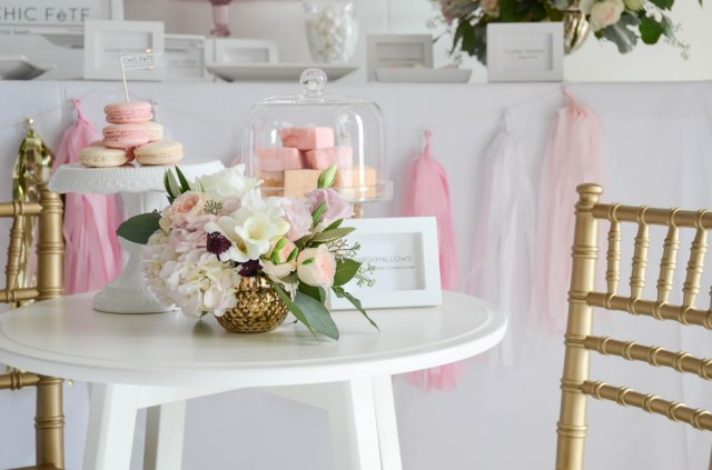 party decor rentals by chic fete