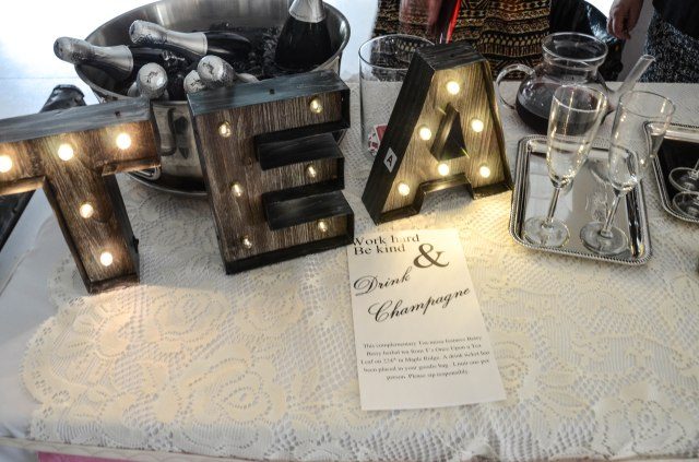 once upon a tea leaf table display