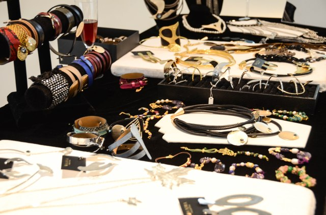 jewellery by wanna collection table display